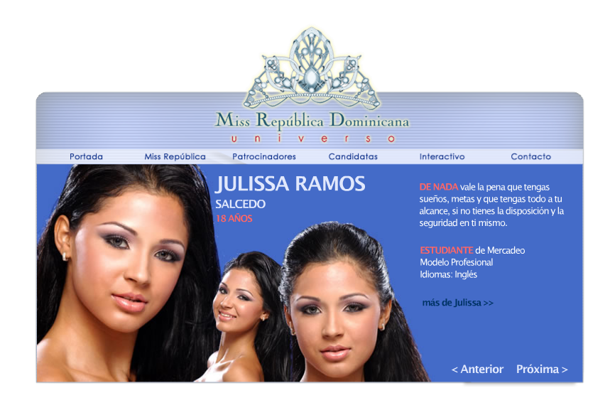 Miss Universe Dominican Republic 2004